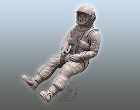SR-71 Blackbird Pilot vehicle 3D print model