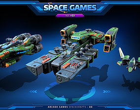 RTS - Space Games Vol - 03 3D model