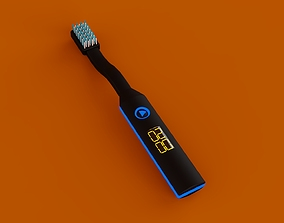 Toothbrush With Display 3D model