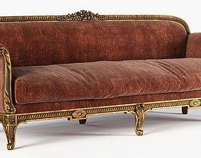 Antique Sofa seat 3D