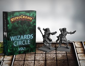 Retrocrusade Wizard 3D printable model