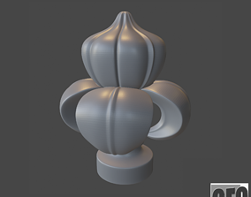 WoodCarving Finial - 3d model for 3