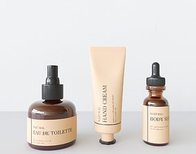 Body Care Set Small 3D