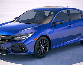 3D Honda Civic Si Sedan 2020