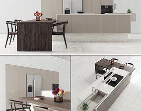 3D model Kitchen 57