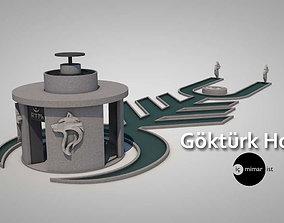 MYSTIC TURKISH HOUSE 3D asset