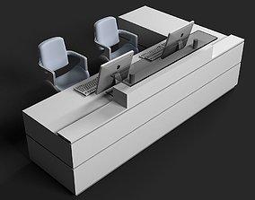 3D Reception Desk 03