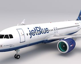 3D model JetBlue A320 NEO