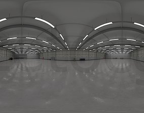 HDRI - Industrial Warehouse Interior 3b 3D model