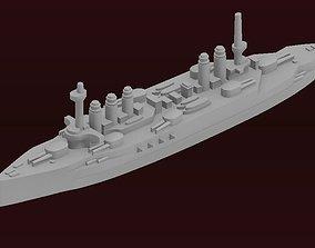 3D printable model Danton-class battleship