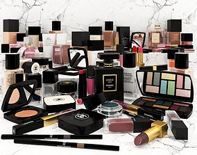 Chanel Makeup and Cosmetic Beauty 3D model