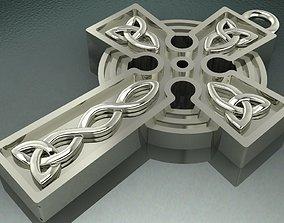 Celtic cross Necklase 3D printable model