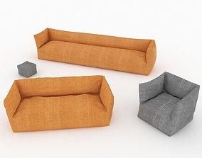 3D Core Sofa Set