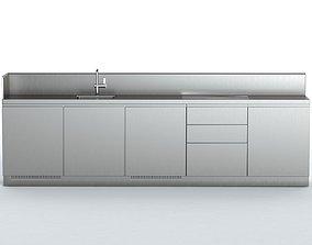 ATELIER ABIMIS kitchen 3D model