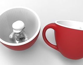 Mario Coffee Mug - 3D Print