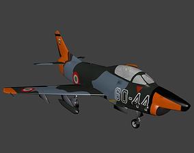 3D asset Fiat G91
