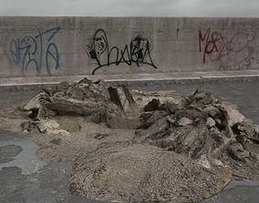 rubble 030 am165 3D model