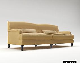 3D Sofa Francois From Dom Edizioni - Design By Domenico