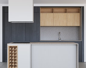 Modern kitchen 07 3D