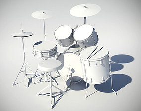 Drums Pearl Exporter 3D