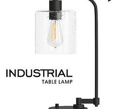 3D asset Industrial Table Lamp