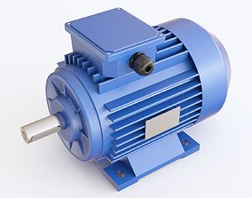3D Electric Motor 01