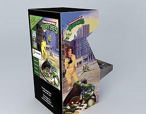 3D TMNT Arcade Machine