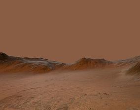 Mars Environment 3D asset realtime