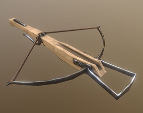 fantasy 3D asset VR / AR ready Crossbow