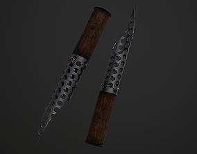 Knife from Fear The Walking Dead 3D asset