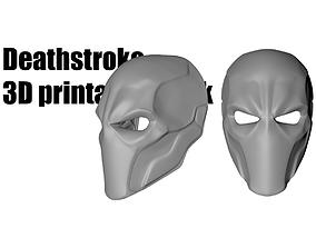 Deathstroke mask helmet 3D printable model