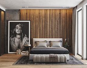 3D model Bedroom SCN0003