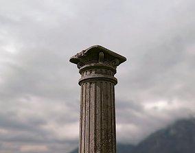 exterior 3D model Column