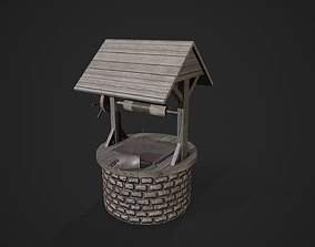 Stone well 3D asset realtime