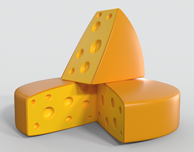 Cheese cow 3D model
