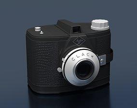 AGFA CLACK vintage camera 3d model