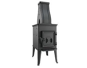 Fireplace 06 norwegian 3D model