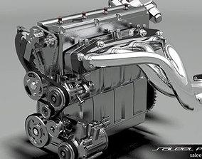 Diesel Inline 4 DOHC 3D