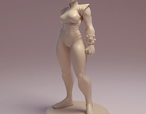 Chun Li Fan art model for 3d printing