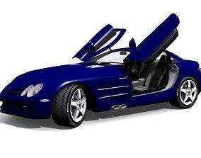 Mercedes-Benz SLR McLaren 3D asset