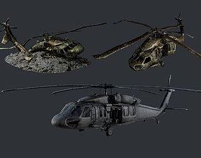 Sikorsky UH60 Black Hawk Military 3D model 5
