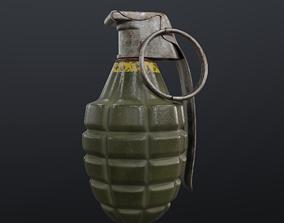 photorealistic Grenade 3D
