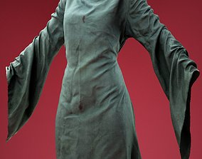 Elven Dress 3D model