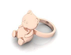 3D printable model Ring bear 30030