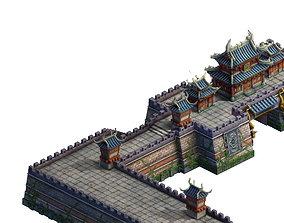 Cartoon - wall 3D gate