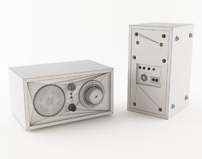3D model Tivoli Audio Radio