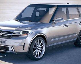 3D Generic Luxury SUV 2018
