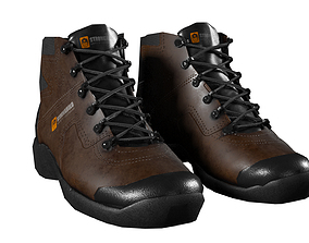 3D model Safety Boots Low Poly