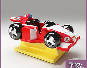 3D KIDDY RIDE F1 WORLD CHAMPION
