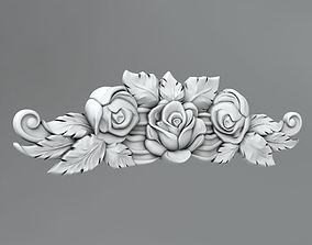 elements 3D model Flower decor 9